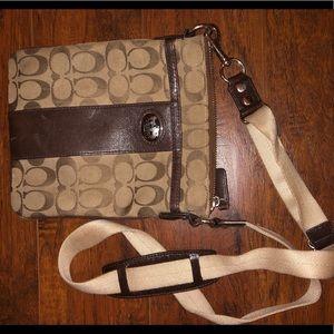 Small crossbody Coach purse